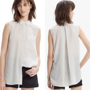 Madewell | Silk Sleeveless Blouse